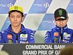 MotoGP Qatar 2016: Rossi y Lorenzo, tensión a flor depiel