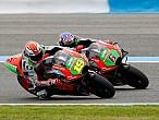Aprilia y Ducati prosiguen sus pruebas enMugello