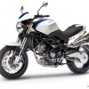 Moto Morini 1200 Sport - Mediterranean blue/white with black frame British racing green/yellow with white frame
