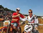 Kimi Raikkonen y su circuito de motocrossilegal