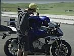 El encuentro entre Valentino Rossi yMotobot
