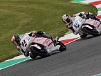 La lluvia y el viento marcan los test de Moto3 y Moto2 enMugello