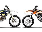 KTM y Husqvarna llaman a revisión a las SX-F y FC 250 2016