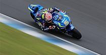Johann Zarco se estrena en MotoGP sobre la Suzuki GSX-RR
