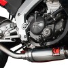 Escape Scorpion Discreto Aprilia RS4 125 vision lateral
