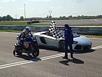 Batalla entre una R1 y un Lamborghini Aventador, ¿quiéngana?