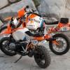 BMW R80GS Dakar '85 y Concept Lac Rose