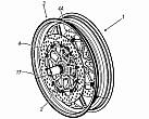 """Ducati patenta una rueda que reduce el """"chattering"""""""