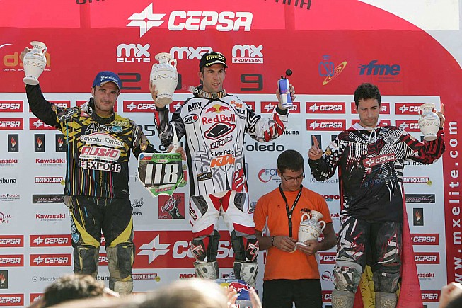 podio MX Talavera
