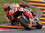 MotoGP Sachsenring 2016: Márquez da una nueva lección a susrivales