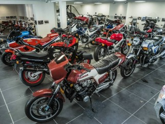 David Silver Collection, la mayor colección de motos Honda en Europa