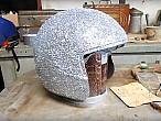 Convirtiendo un casco viejo en unoreluciente