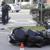 Accidente de moto en ciudad