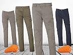 Pantalones Tucano Urbano Leonchino y LeoCargo: estilo yseguridad