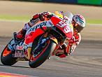 MotoGP Aragón 2016: Márquez marca el ritmo en laclasificación