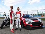 Xavi Forés y Chaz Davies, muestran su talento en la Audi Sport TTCup