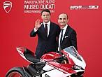 Matteo Renzi inaugura oficialmente el nuevo MuseoDucati