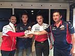 Raúl Fernández y el Aspar Team juntos en el Mundial Junior de Moto3