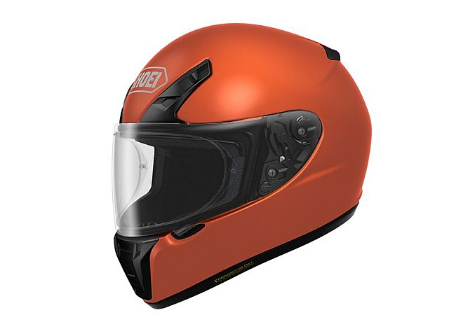 Nuevo Shoei RYD orange