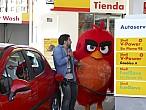 Los Angry Birds sorprenden a los clientes de Shell en sus estaciones deservicio