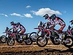 Dakar 2017: El Monster Energy Honda Team muestra lasgarras