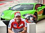 Andrea Dovizioso pilotará un Lamborghini enCheste