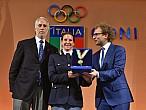 Kiara Fontanesi recibe el Collar de Oro al méritodeportivo