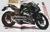 Kawasaki Ninja 300 2018: así podríaser