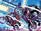Riders in the Storm: superhéroes y supermotos en el primer cómic de BMW