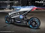 ¿Motos dron de policía? Así podrían ser en un futuro no muylejano