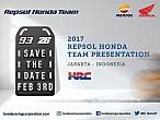 El Repsol Honda Team se presentará el 3 de febrero enJakarta