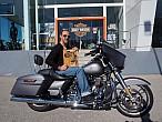 Rubén Bernabéu, ganador español del concurso Discover More de Harley-Davidson