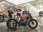 El Harley-Davidson Factory Team listo para la temporada de FlatTrack