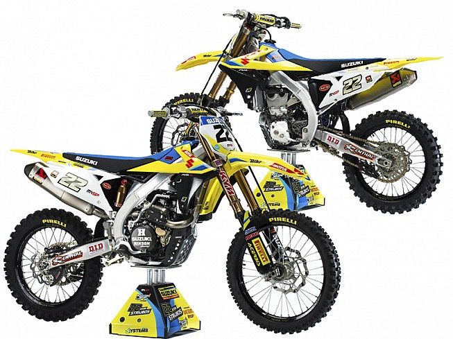 suzuki rm z 450 2018 llega la esperada renovaci n nuevas motos zonaoff. Black Bedroom Furniture Sets. Home Design Ideas