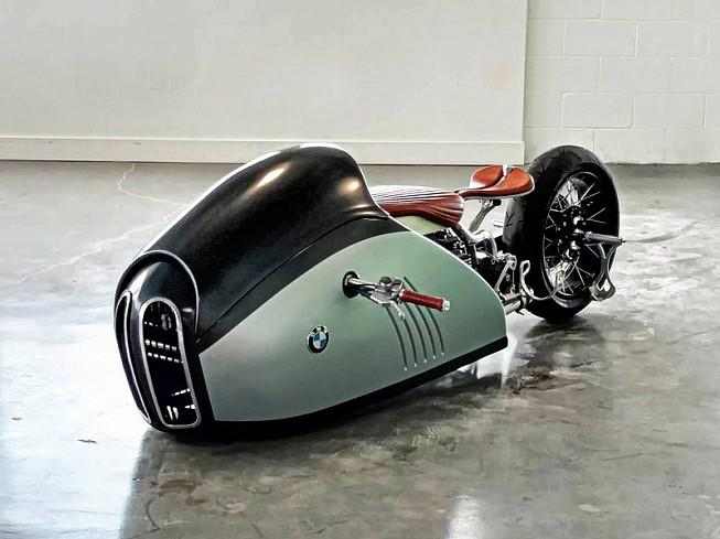 BMW Alpha Concept: retro-streamliner deculto