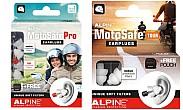 Alpine Motosafe Tour y Motosafe Pro: tapones especiales paramoto