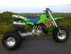 Kawasaki KX500 Trike 1995: locura de tres ruedas apta paracoleccionistas
