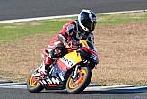 Antiguos pilotos Repsol y directivos de HRC, compiten juntos en una carrera de minibikes enMotegi