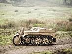 Moto-oruga NSU Kettenkrad 1944: ¡esto es laguerra!