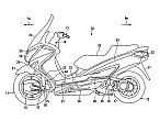 ¿Suzuki planea un Burgman con dos ruedasmotrices?