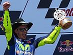 Valentino Rossi es el segundo piloto con más años en liderar unmundial