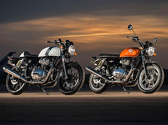 Royal Enfield Interceptor y Continental GT 2018: llegan las twins