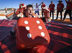 Marquez celebrando su sexto título
