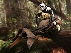 Star Wars, Speeder Bike y la fiebre Jedi