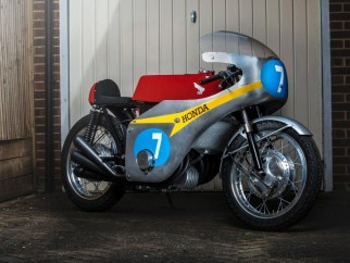 Honda RC374 Six tribute