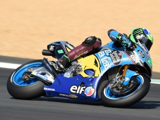 Franco Morbidelli en acción