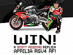 Gana una RSV4 RF replica Scott Redding