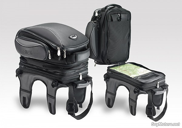 3d58810ef Bolsa sobredepósito Givi T456: bolsa, mochila y portamapas todo en ...