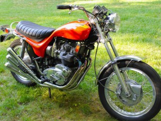 Triumph X-75 Hurricane en estado original